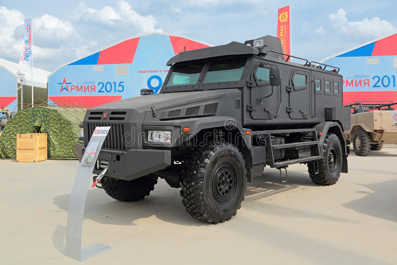 The special purpose vehicle Patrol stock images
