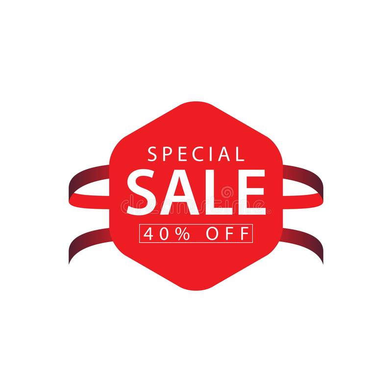 Special Sale 40% off Vector Template Design Illustration vector illustration