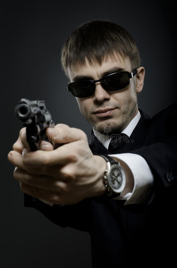 Download Special-service agent stock photo. Image of costume, espionage - 22930988