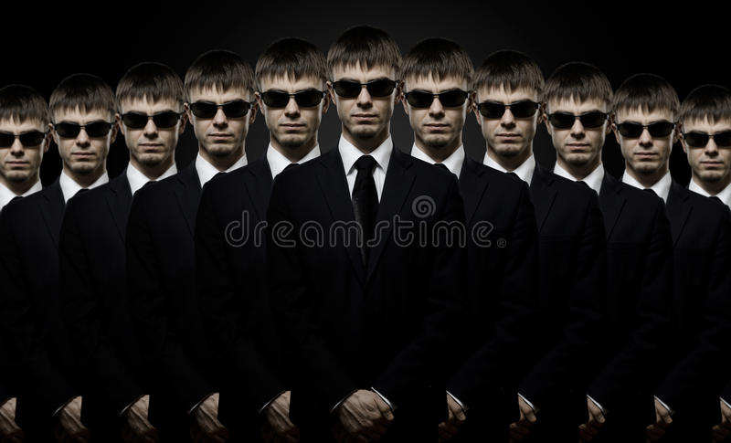 Download Special-service agent stock photo. Image of host, black - 23152902