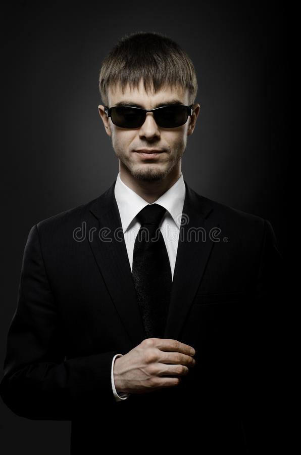 Download Special-service agent stock image. Image of fashionable - 23758241