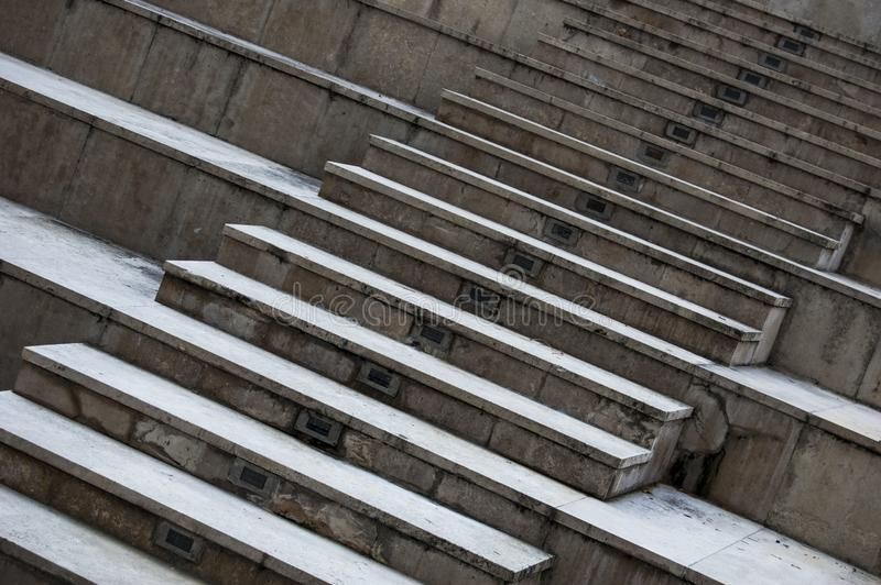 Very nice, special stairway stock photos