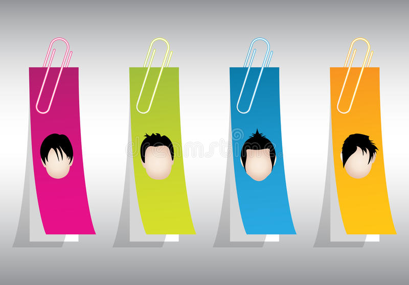 Download Special stickers stock vector. Image of hairdresser, listing - 25455725