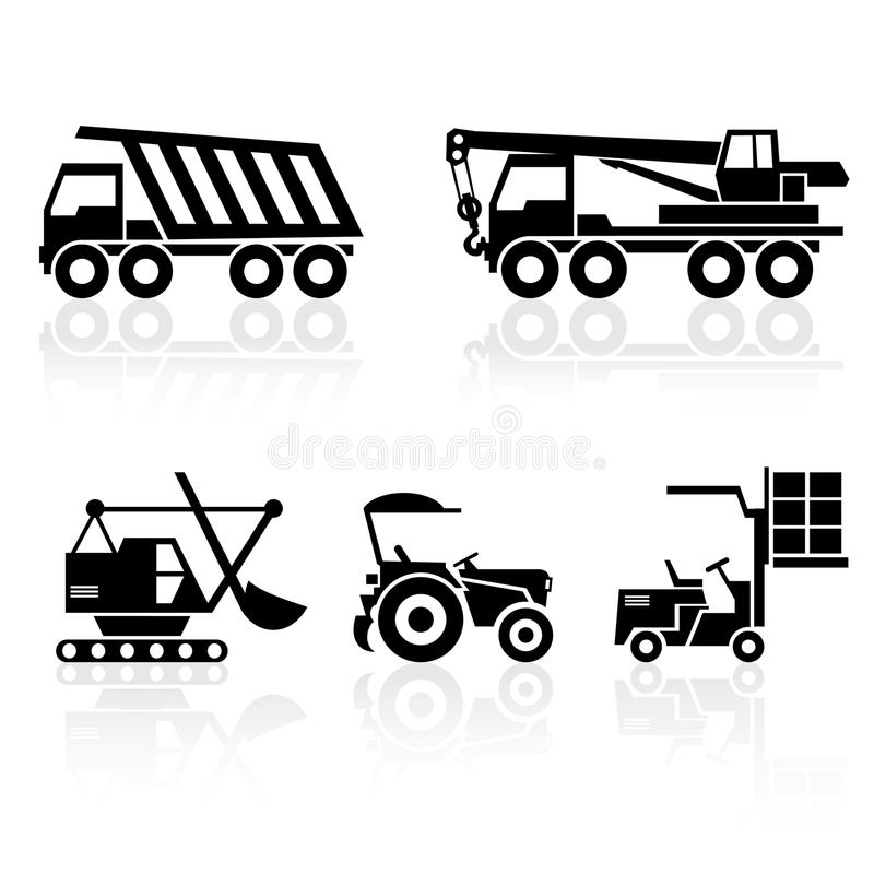 Download Special vehicles stock vector. Image of mobile, equipment - 19359744