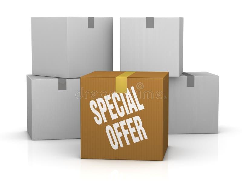 Speciale aanbieding stock illustratie