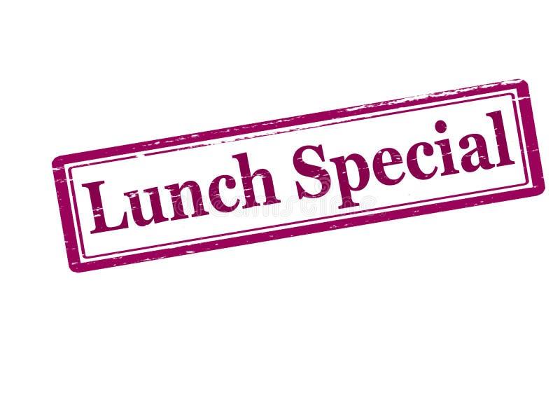 Speciale del pranzo illustrazione vettoriale