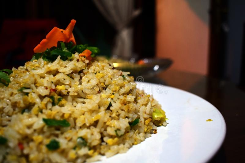 Speciale Fried Rice per l'Indonesia fotografie stock