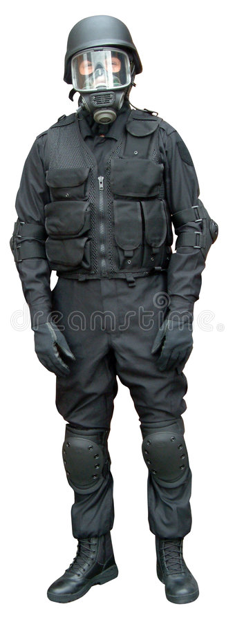 Speciale krachten kleding stock fotografie
