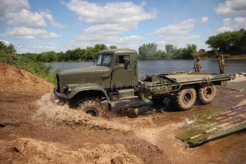 Speciale militaire uitrusting Ural royalty-vrije stock fotografie