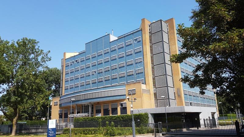 Speciale Rechtbank voor de bouw van Libanon in Leidschendam in Nederland dicht bij Den Haag royalty-vrije stock foto's