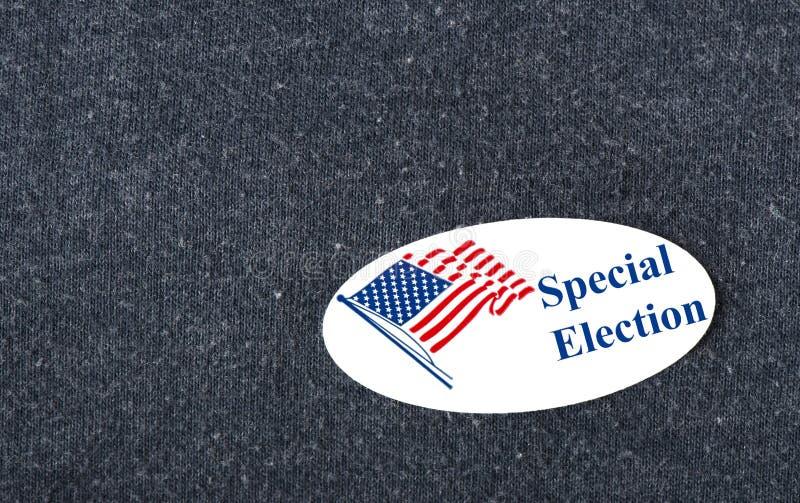 Speciale Verkiezingssticker stock afbeelding