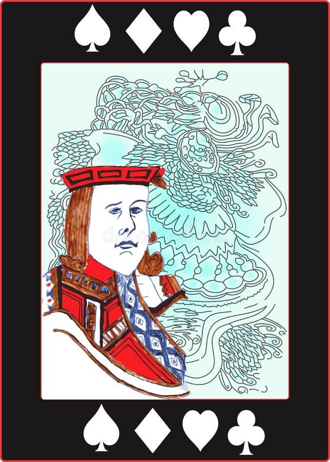 Speciale Wilde Kaart vector illustratie