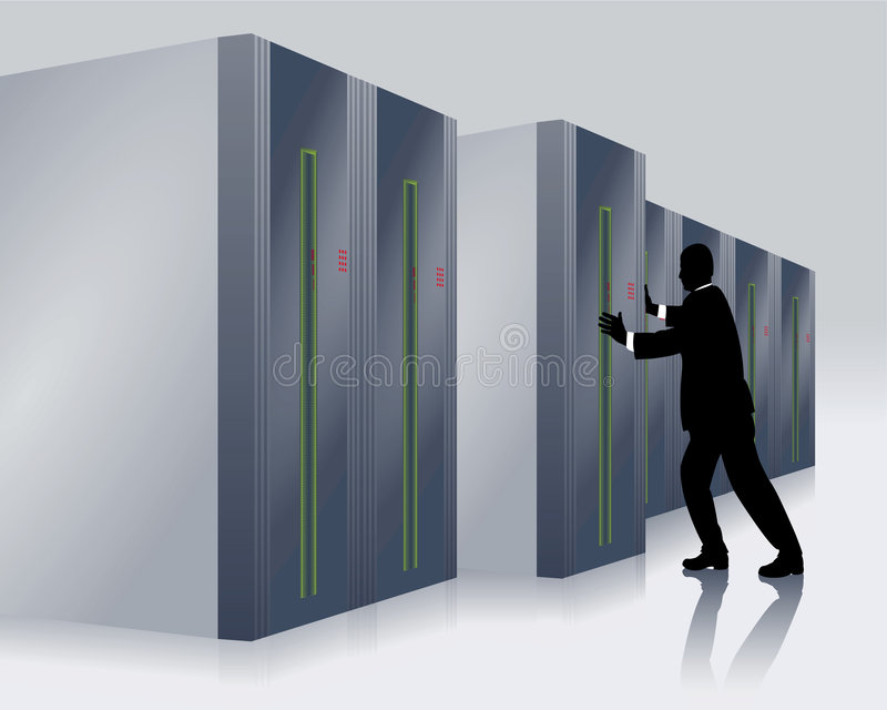 Download IT Specialist Stock Photo - Image: 8166690