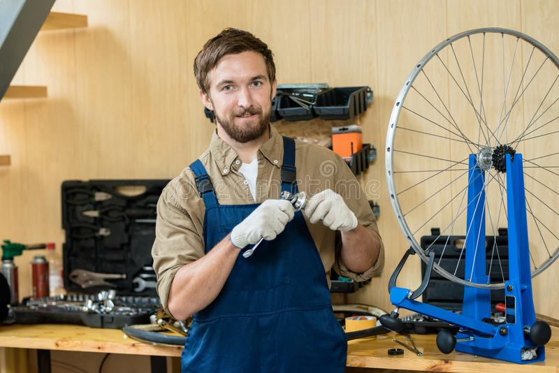 Specialist of repair royalty free stock images