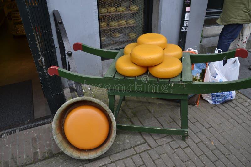 Specialità Amsterdam Niederlande di Chees immagine stock libera da diritti