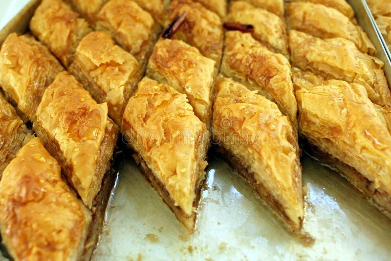 Specialità gastronomiche greche fotografie stock