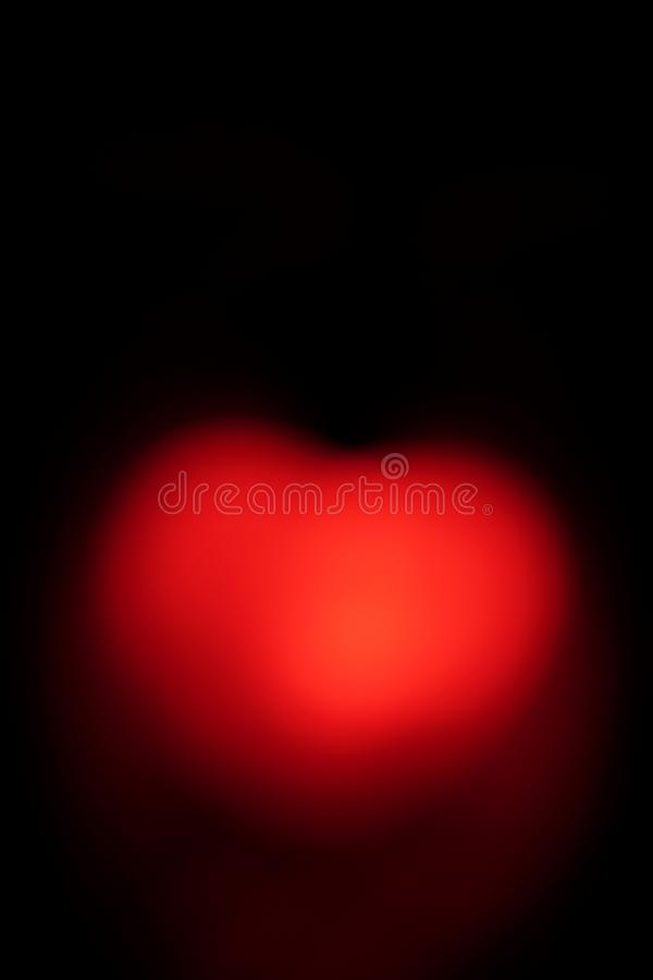 Specially prepared heart for Valentine`s Day royalty free stock photography