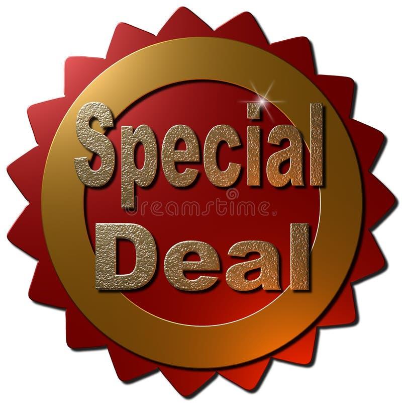 Specialt avtal (skyddsremsan) stock illustrationer