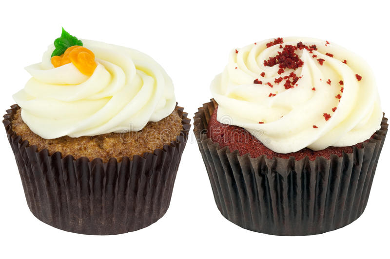 Specialty Cupcakes royalty free stock photo