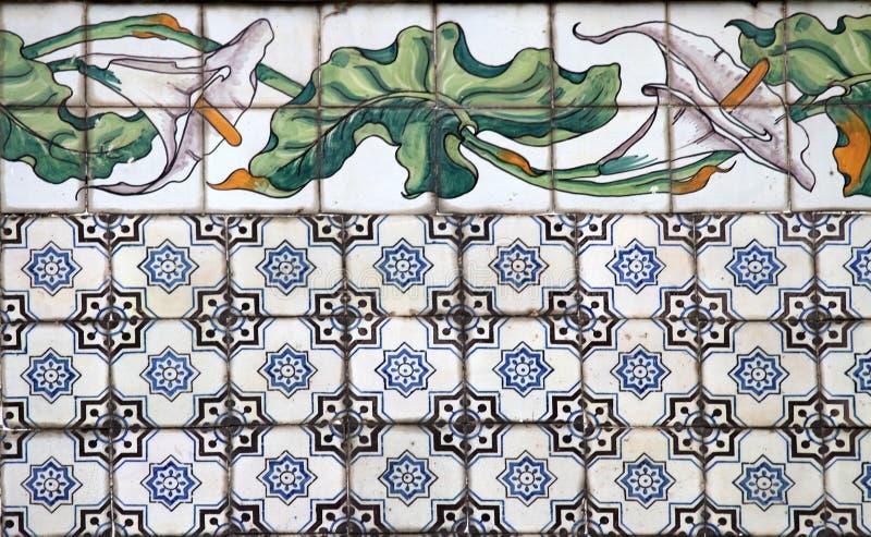 Valencia azulejos royaltyfria foton