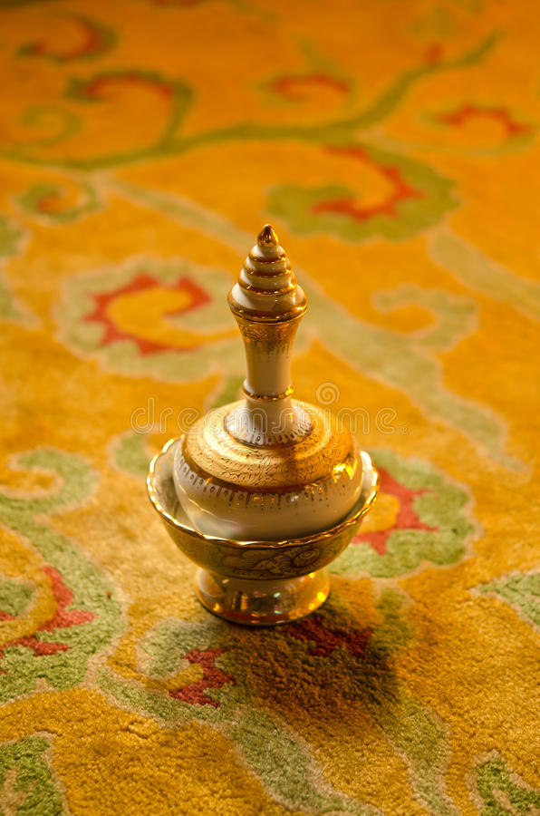 Specificerad buddist gral arkivbilder