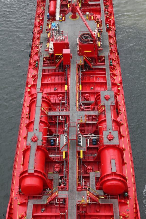 Specificerar av en tankfartyg royaltyfria bilder