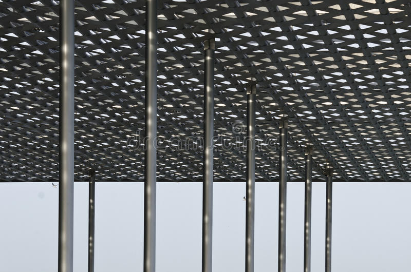 Specificerar av modernt stålsätter taklägger arkivbilder