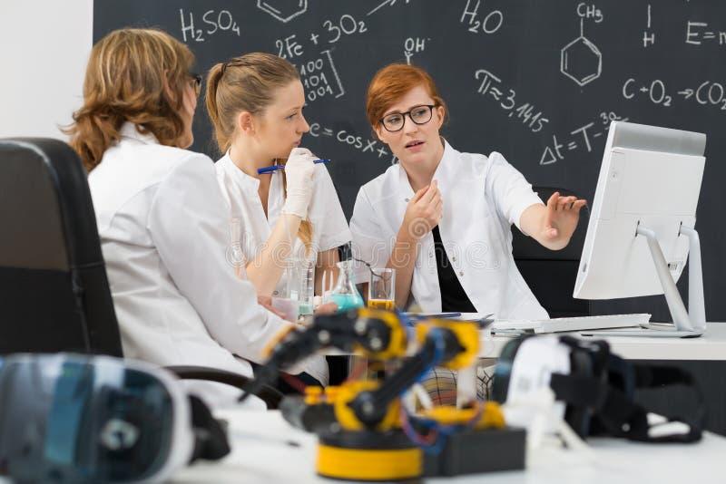 Specifiek aan wetenschap stock foto's