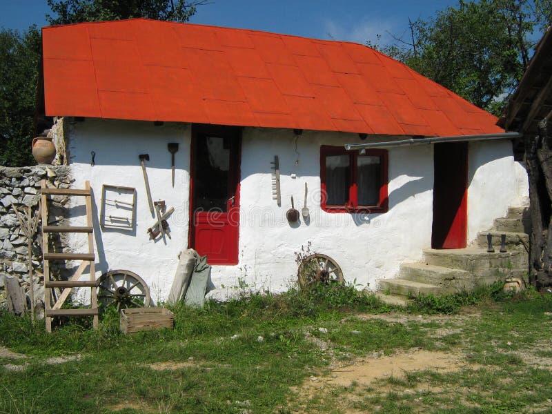 Specifiek Roemeens huis stock fotografie