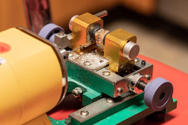Specjalizujący się świder dla robić dziury w klejnotach obrazy stock