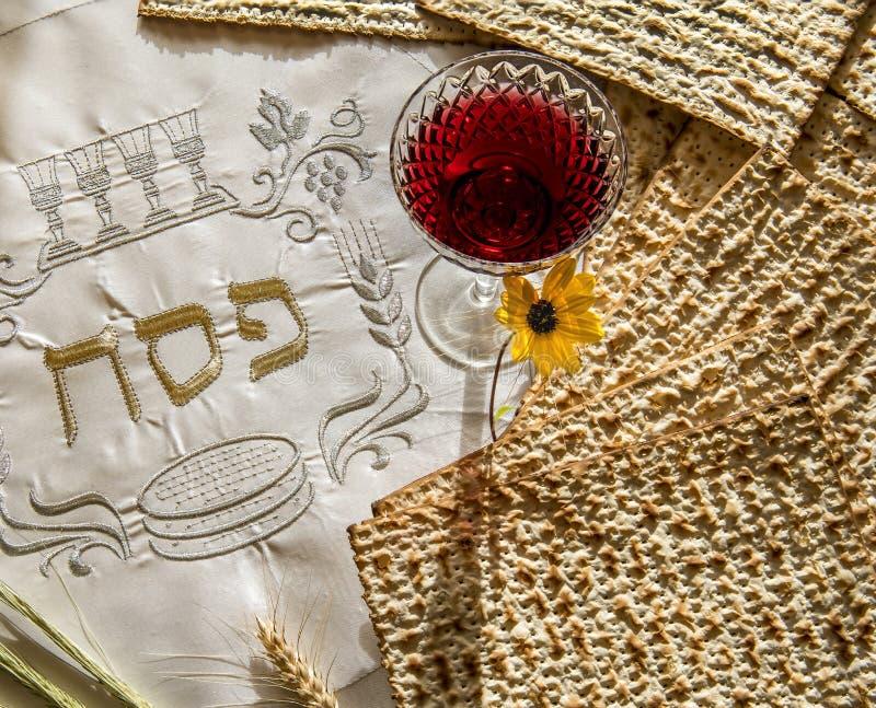Specjalizuje si? atrybuty ?ydowscy Passover Seder wakacje zdjęcia royalty free