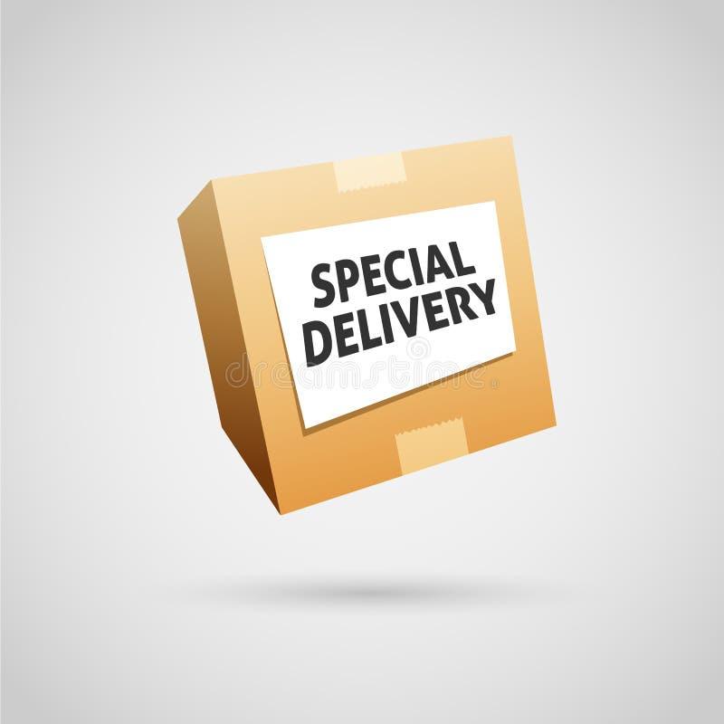 Specjalna dostawa ilustracja wektor