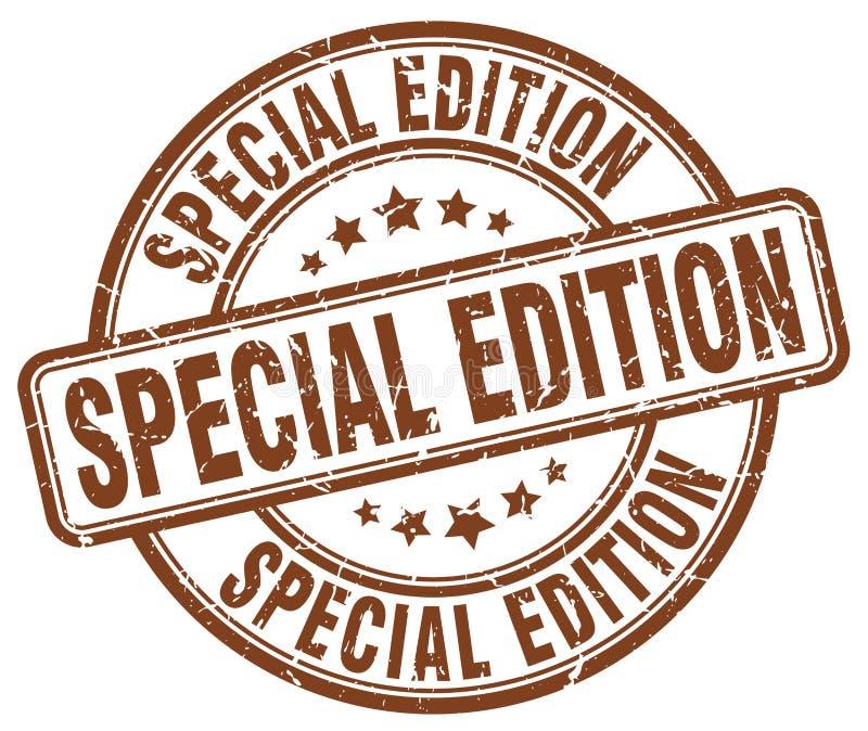 Specjalne wydanie znaczek ilustracja wektor