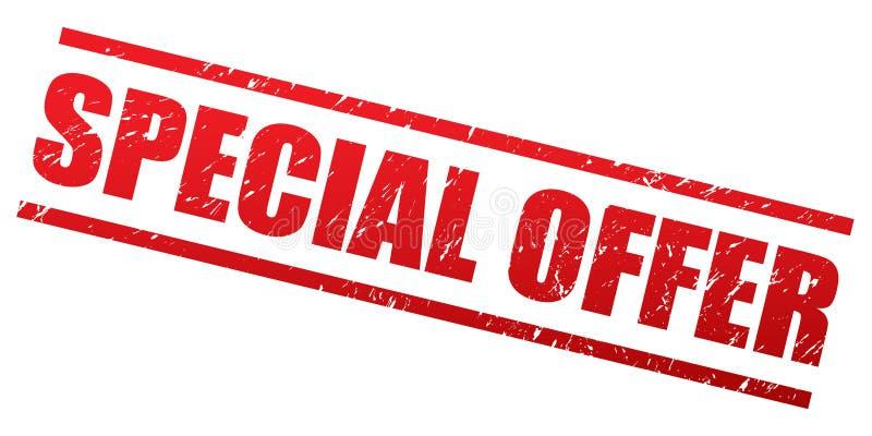 Specjalnej oferty znaczek ilustracji