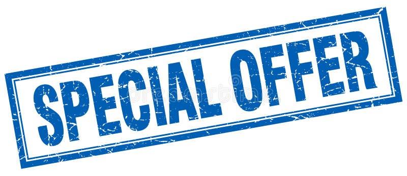 Specjalnej oferty znaczek royalty ilustracja