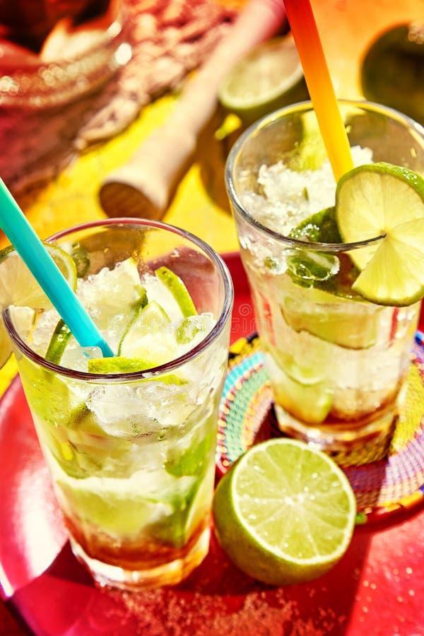 Specjalność napoje od Brazylia zdjęcia stock