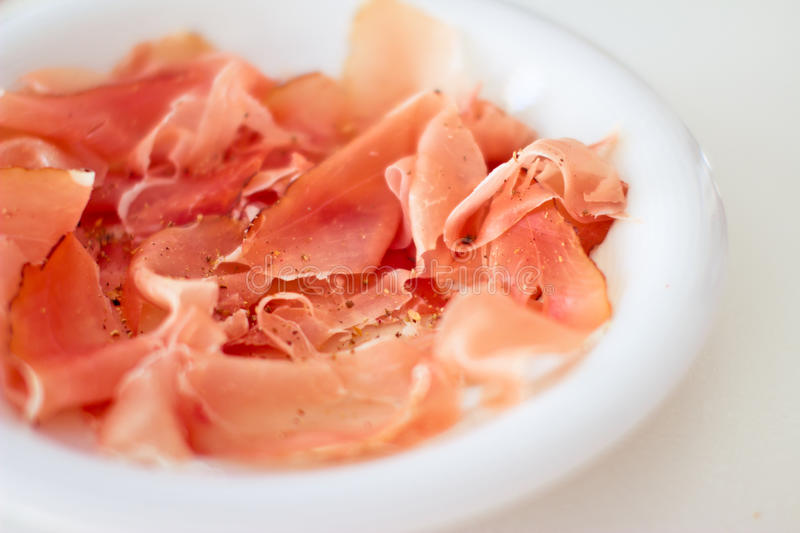 Download Speck ham stock photo. Image of speck, white, calories - 25040096