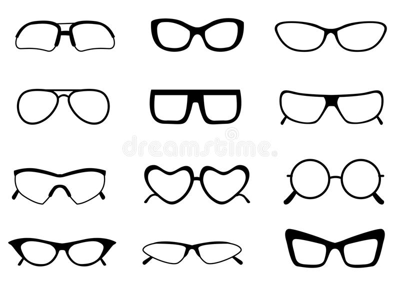 Spectacle vector illustration