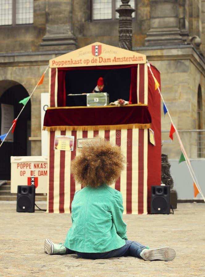 Spectacle de marionnettes photos stock