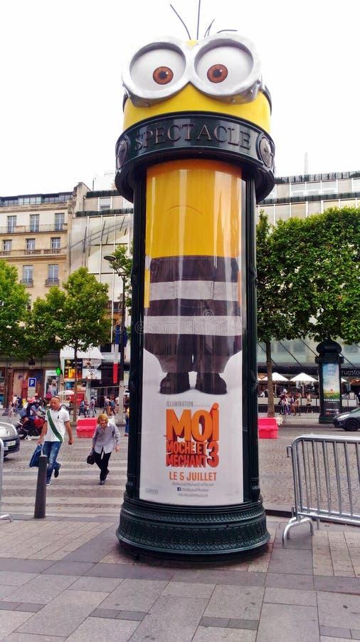 Spectacle de subordonné à Paris photographie stock