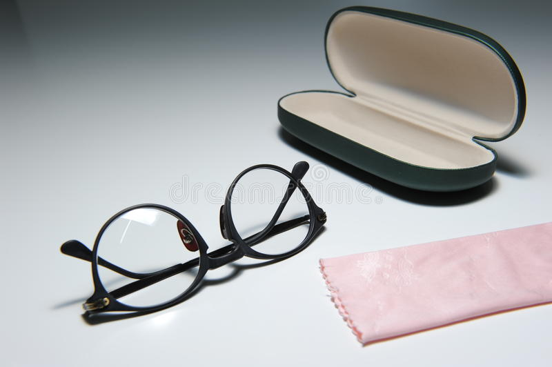 Download Spectacles and Case stock photo. Image of plastic, cloth - 15217970