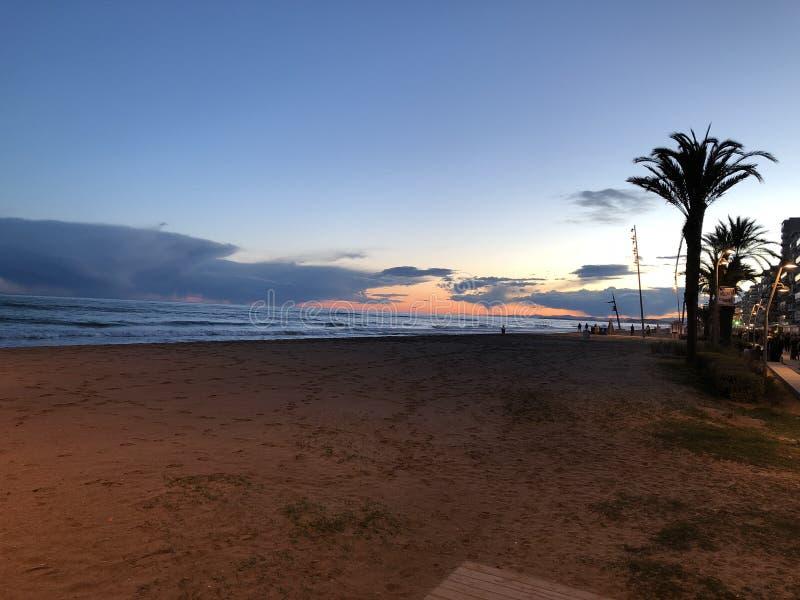 Spectaculair landschap in Mallorca Spanje royalty-vrije stock afbeeldingen