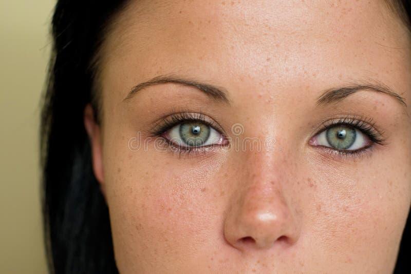 Spectaculaire ogen stock fotografie