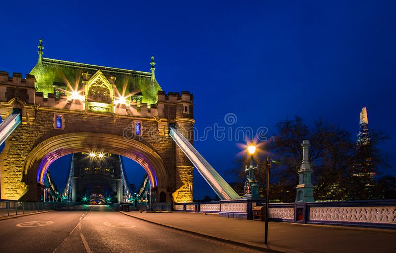 Amazing Tower Bridge London England Europe stock images