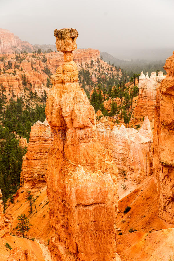 Free Spectacular Bryce Canyon As A Storm Approaches Royalty Free Stock Images - 43382279