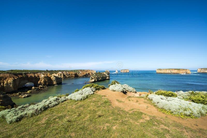 Spectacular Coast, Twelve Apostles, Great Ocean Road, Australia stock image