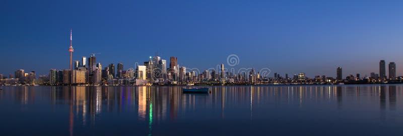 Amazing view of City of Toronto Ontario Canada stock photography