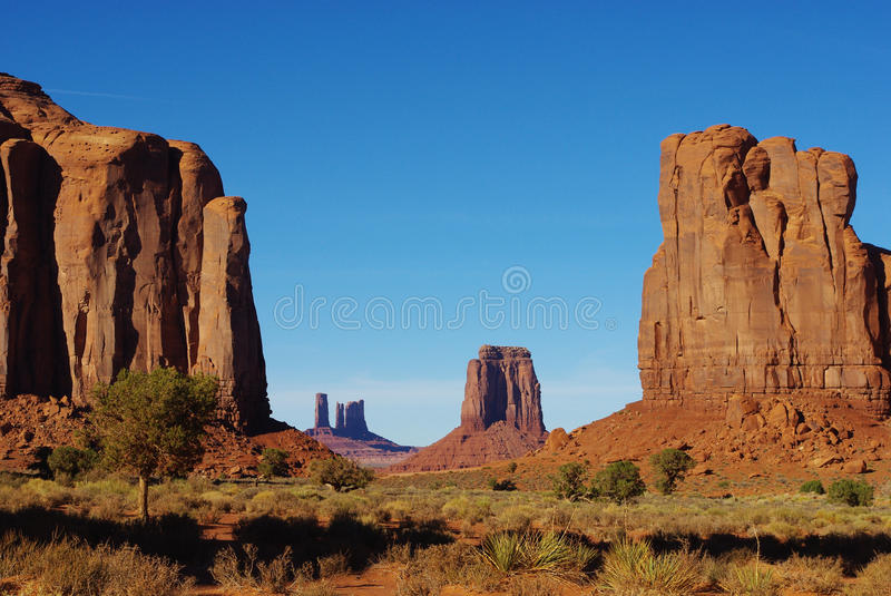 Spectacular Monument Valley, Arizona royalty free stock photos