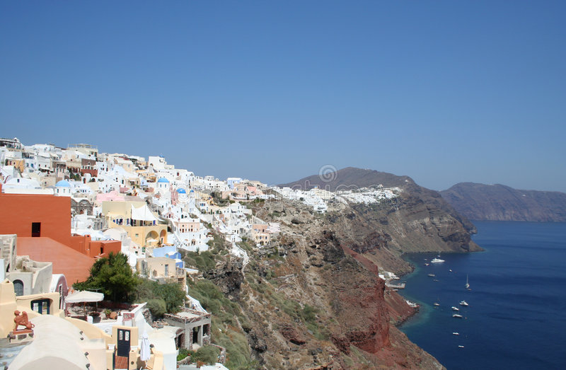 Download Spectacular Santorini. Stock Photo - Image: 7667520