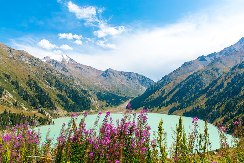 Spectacular Scenic Big Almaty Lake ,Tien Shan Mountains In ... - photo#46